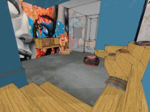 Vue 3D - Deskéo